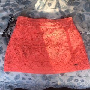 Pink Hollister skirt.
